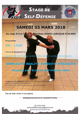 3 mars 2018 Stage de Self défense