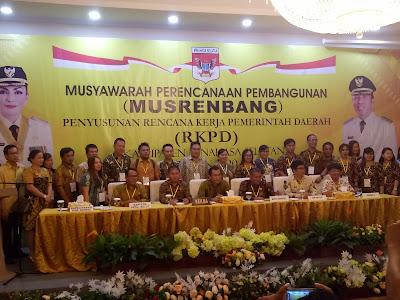 Musrenbang RKPD Minsel Sukses Dilaksanakan