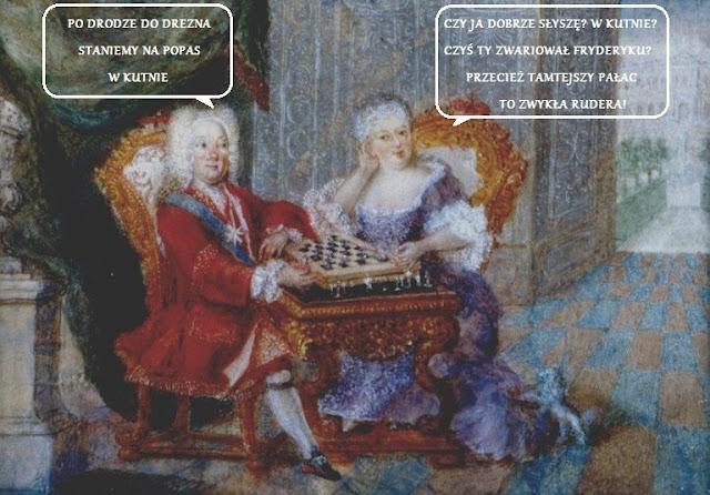 Saski Mem - August III i Maria Józefa planują wspólną podróż do Drezna