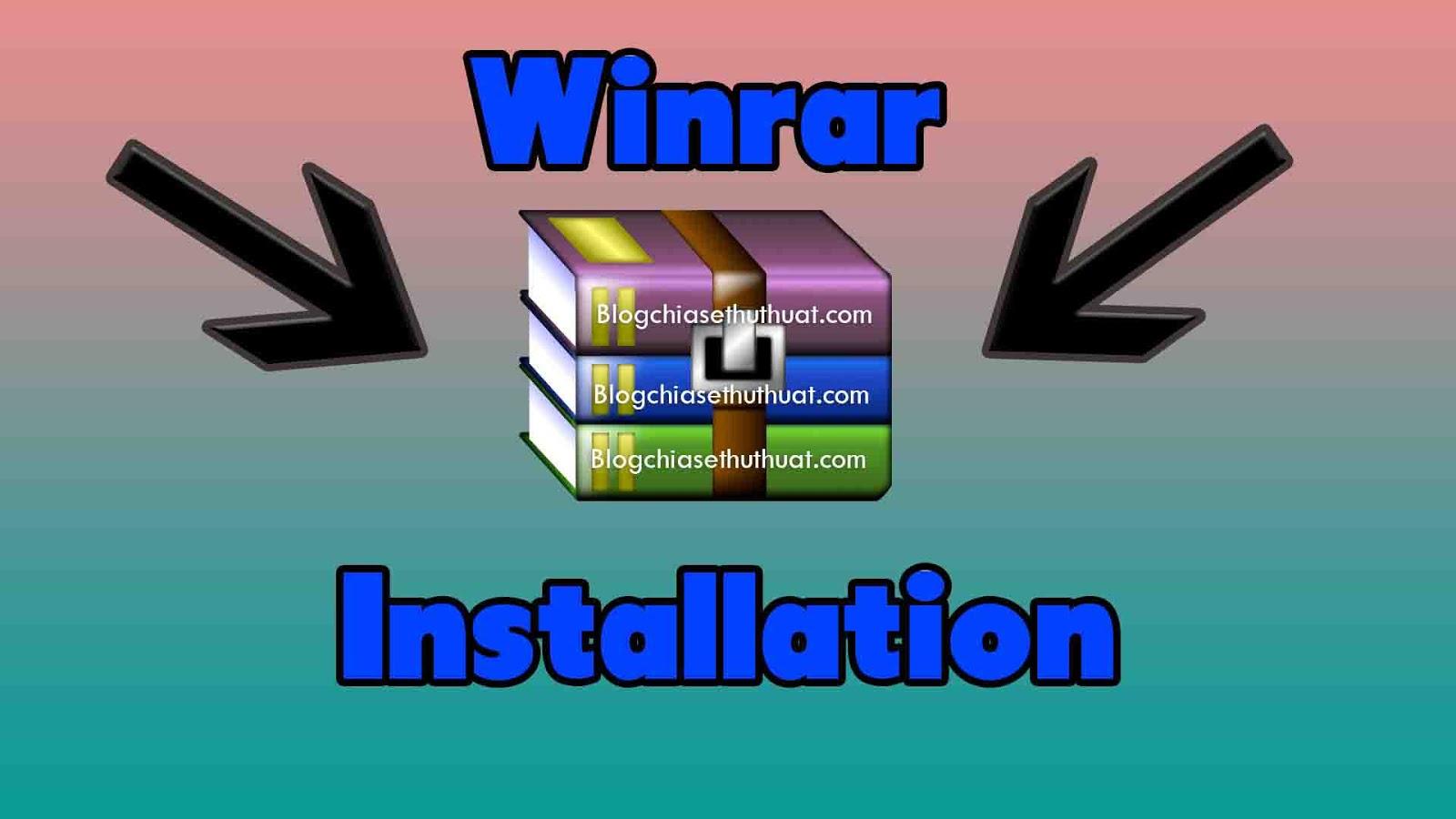 WinRAR - Download WinRAR 5.40 Phần mềm nén và giải nén file cho máy tính