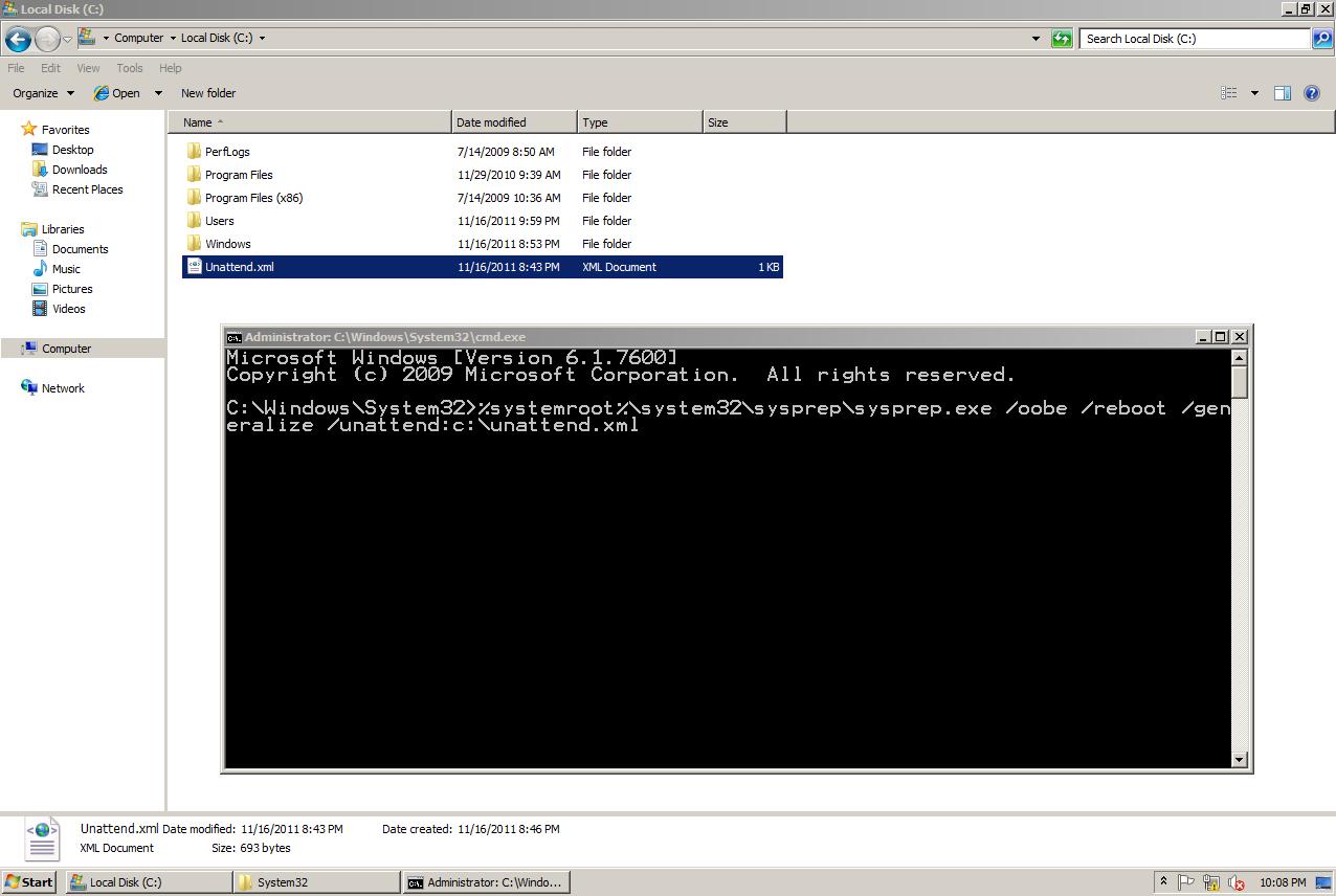 AD Shot Gyan: Configuring Mandatory Profiles for Windows 7