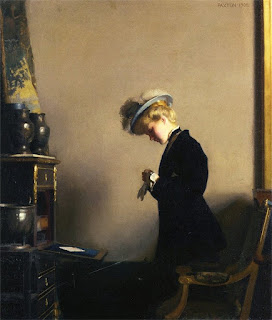 William MacGregor Paxton - The Letter
