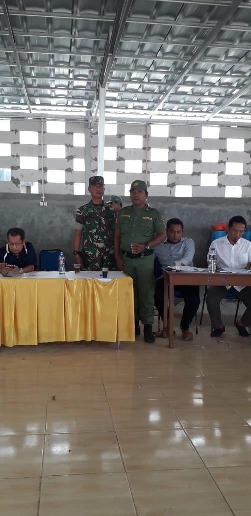 Babinsa Koramil 07/Limo Kawal Proses Pemilihan Ketua RW
