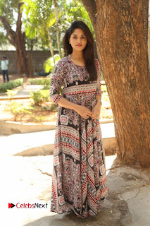 Actress Sunaina Latest Stills in Floral Dress at Pelliki Mundu Prema Katha Trailer Launch  0049.JPG
