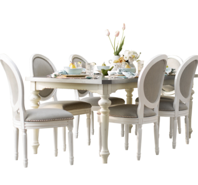beautiful french farmhouse dining set