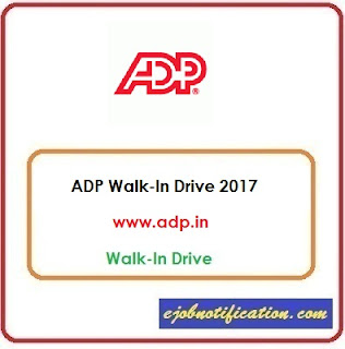 ADP Walk-In Freshers Process Associate jobs in Pune 9th-30th Oct'2017
