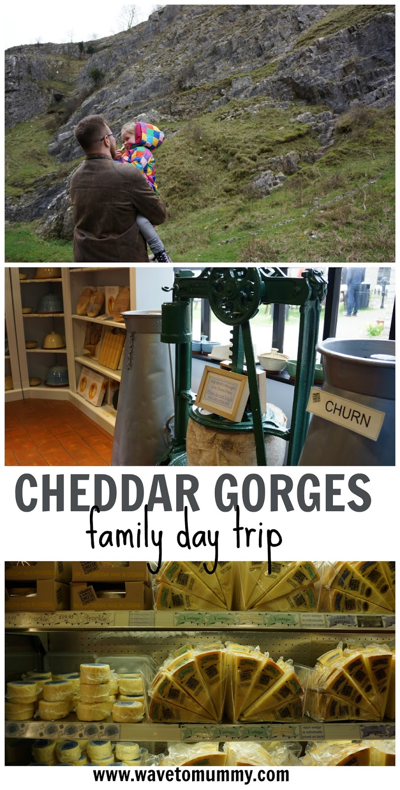 A mini family day trip to Cheddar Gorges - top tips on what to do and where to go in Cheddar Gorges. This is a great place to come with a family, have a picnic, and to buy cheddar cheese!