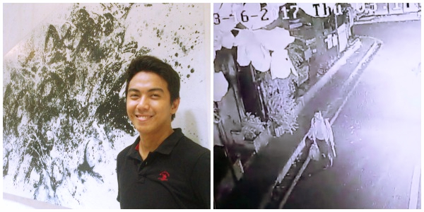 CCTV footage of missing UP graduate emerges