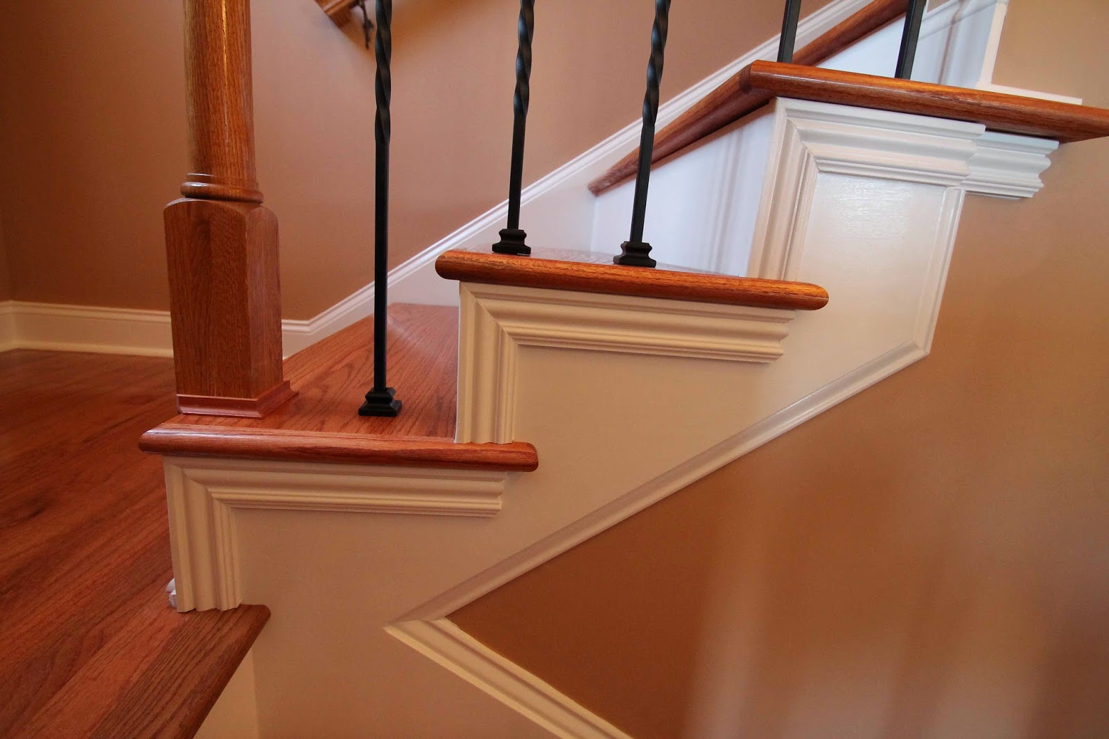 The Hardwood Steps Are Finished