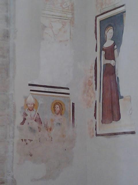 Chiesa di Sant'Apollinare affreschi