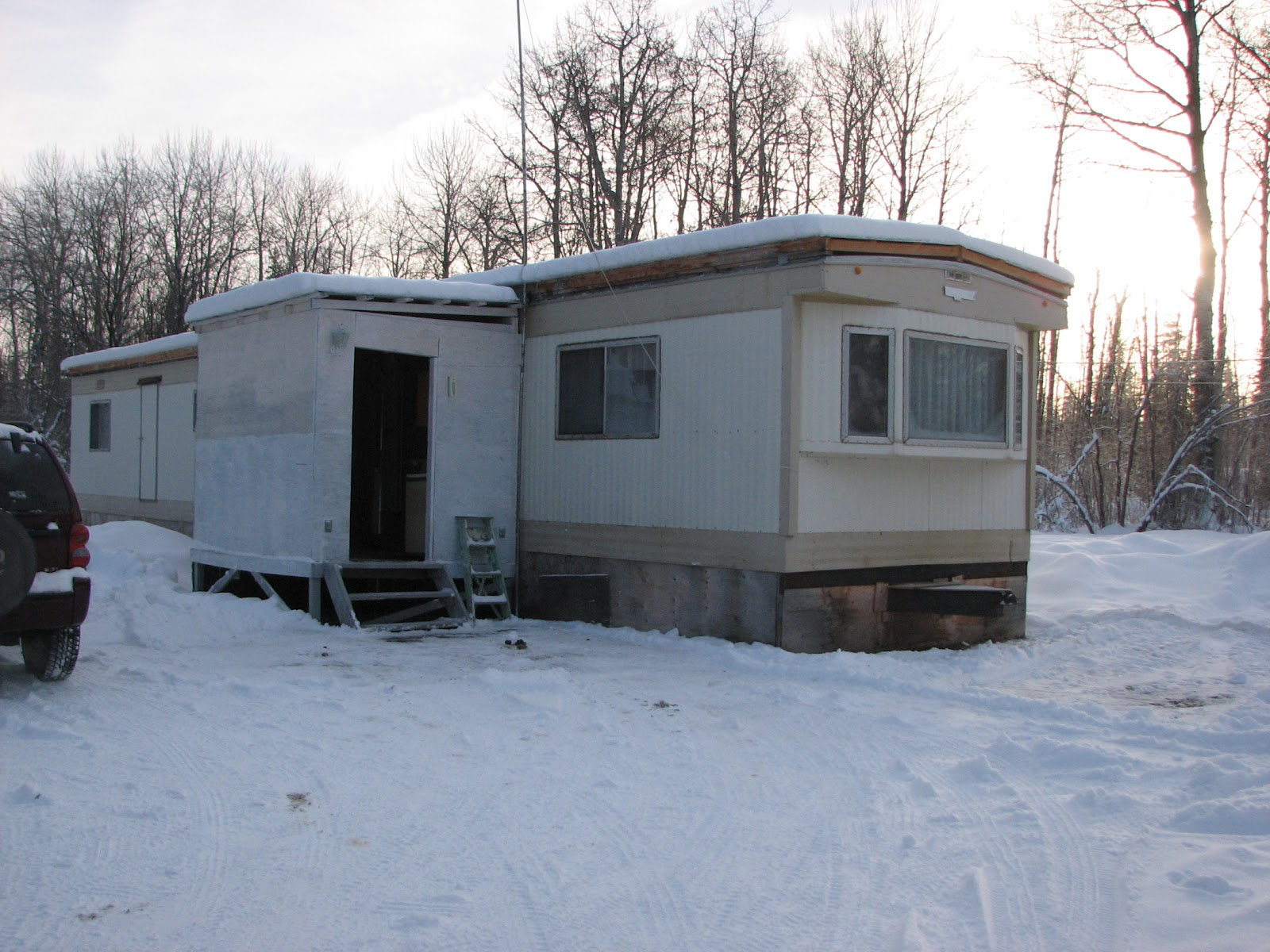 Do It Yourself Home Design: Great Canadian Mobile Home {Budget Friendly Renovation