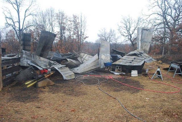 Ten tips for barn fire safety