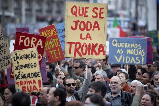 Η Πορτογαλία... διώχνει τον εφιάλτη της τρόικα!