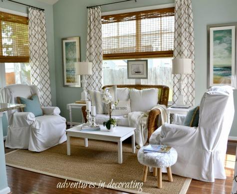 Coastal Decor Ideas for a Sunroom