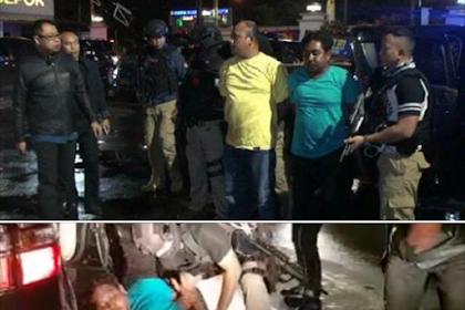 BREAKING NEWS... Tim gabungan Polri berhasil menangkap dua pelaku pembacokan ahli IT Hermansyah