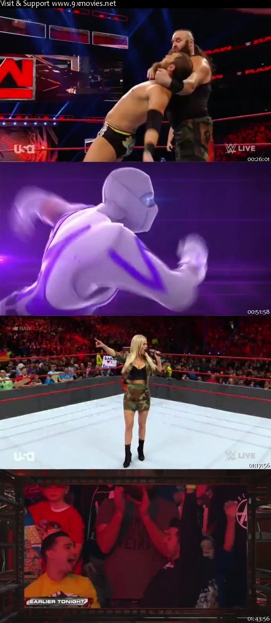WWE Monday Night Raw 12 Dec 2016