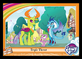 My Little Pony Triple Threat Series 5 Trading Card