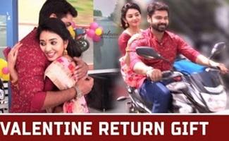 Valentine Return Gift | Thiru & Anandhi | Best of Naayagi