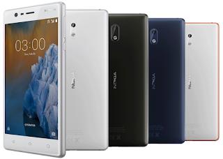 Sudah Hadir Di Indonesia, Inilah Harga Dan Spesifikasi Nokia 3