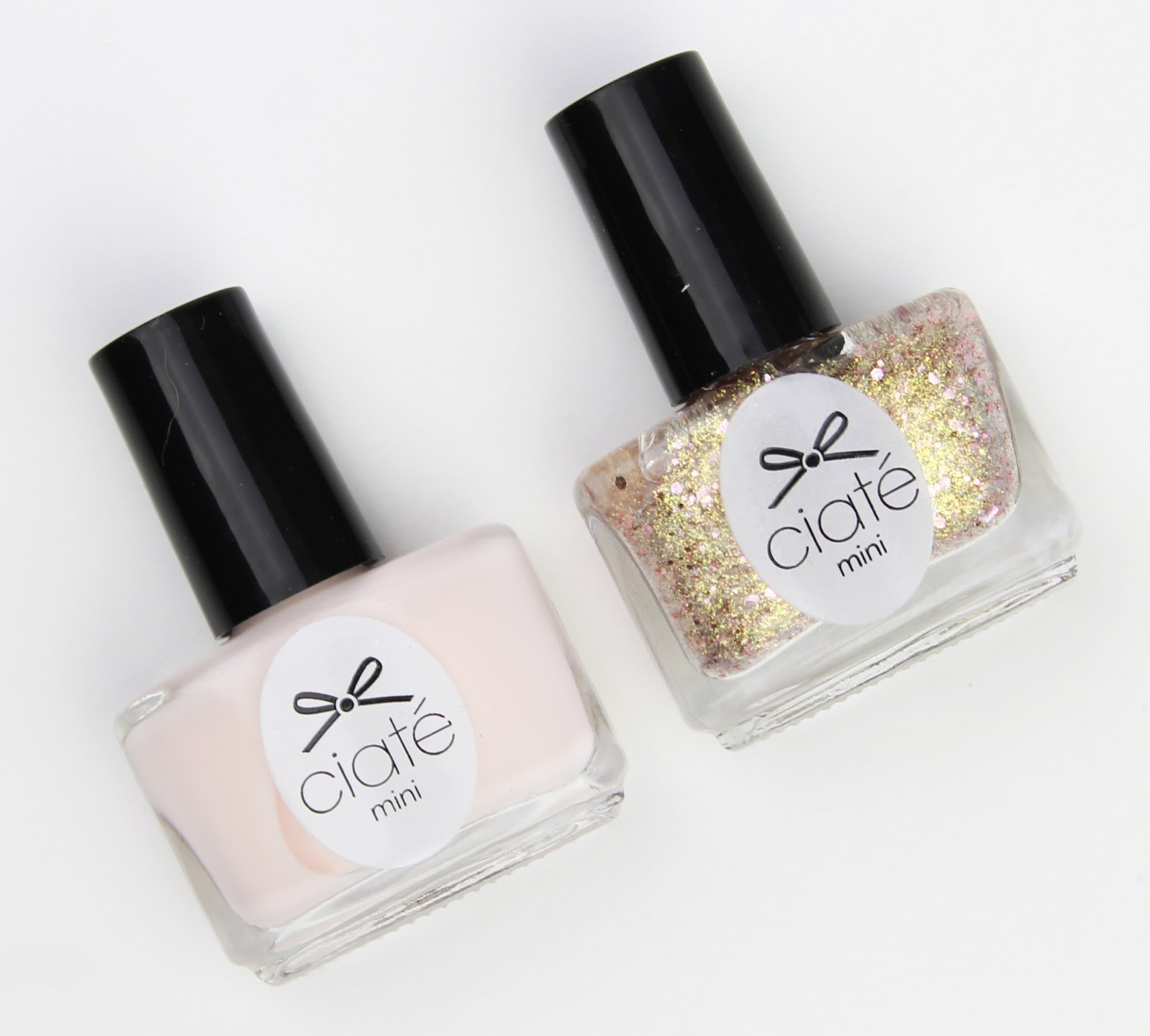 Ciat 233 London Holiday Packs Snow Globe And Paint Pot Duo Rosy Disposition