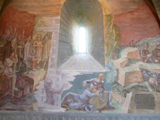 Pinturas murales de la iglesia de Stiklestad