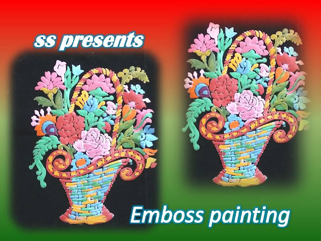 Here is Images for emboss painting,embose painting designs,embose painting designs,embose painting tutorials,How to make embose painting on cloth