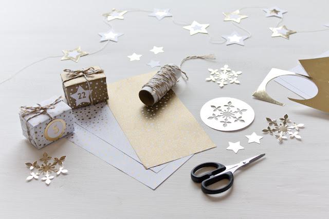 calendario de adviento casitas navidad