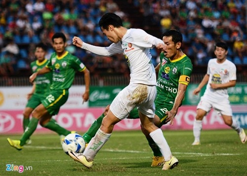 HAGL phải nhận thất bại thứ 9 tại V-League 2016