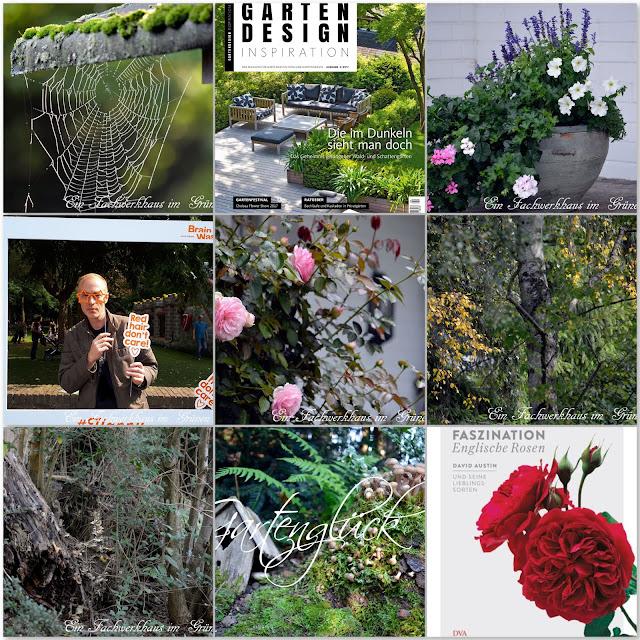 Monatscollage, Collage, Garten, Gartenblog, Blog