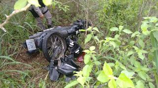 Policiais Militares da 3ªCia/7BPM localizam desmanche de motos em Riachão do Poço-PB