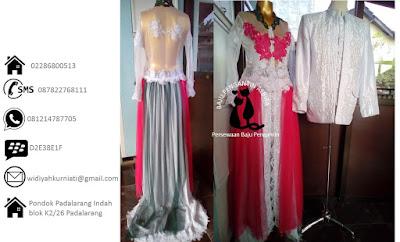 Harga Paket Rias dan Sewa  Baju Pengantin Sepasang Murah 650 ribu