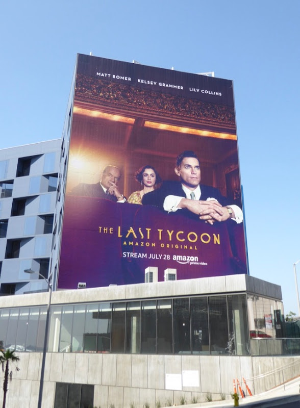 Last Tycoon Amazon series billboard