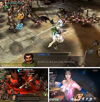 Dynasty Warriors Unleashed MOD APK DATA OBB Android
