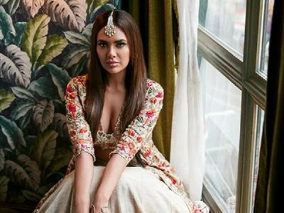 The stunning Esha Gupta looks red hot on the cover of this magazine
