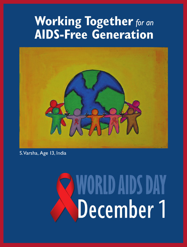 World Aids Day 2012 Awareness Poster