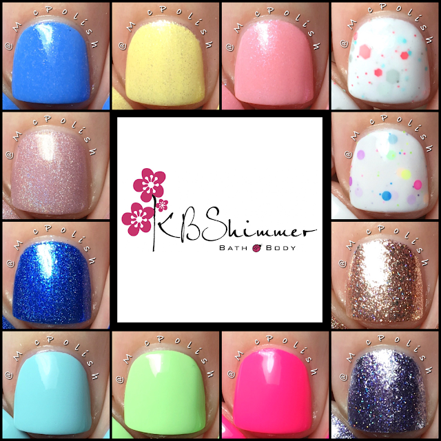 KBShimmer - Summer 2016 Collection - McPolish