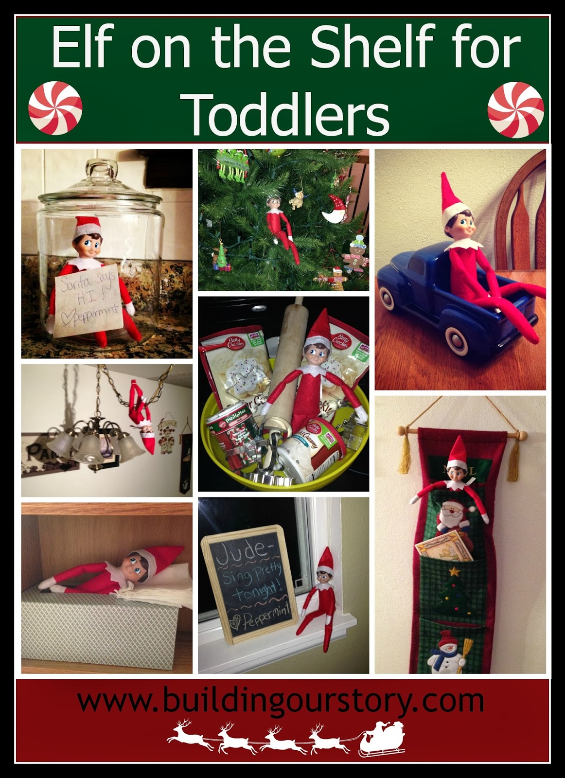 Our Elf On The Shelf Week 2 Building Our Story