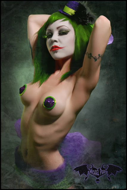 Female Joker Cosplay nude