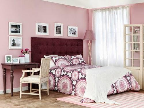 Cuartos juveniles en color rosa dormitorios colores y for Dormitorio rosa