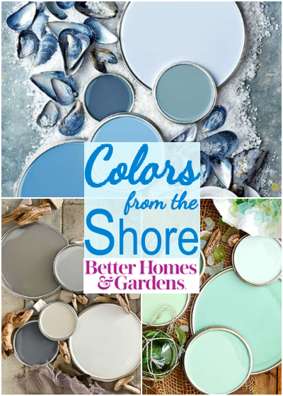 Coastal Color Ideas from Ocean Sea Beach