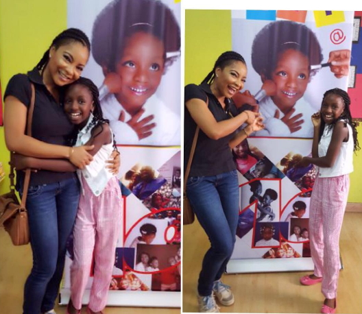 linda ejiofor shows up fan birthday