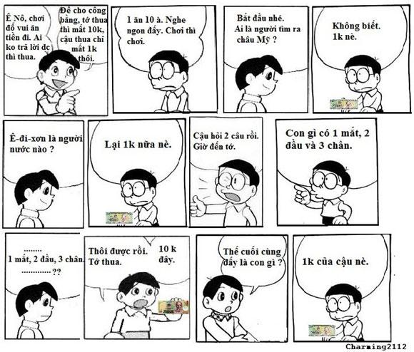 Cười Té Ghế Với ĐôRêMon Chế (P.1)