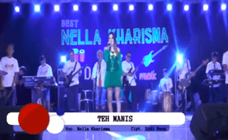 Lirik Lagu Teh Manis - Nella Kharisma