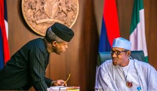 Labaran siyasa :::  wai Maine yake faruwa. Buhari ba zai Musuluntar da Nigeria ba, APC ba jam'iyyar Musulmai ba ce - Osinbajo