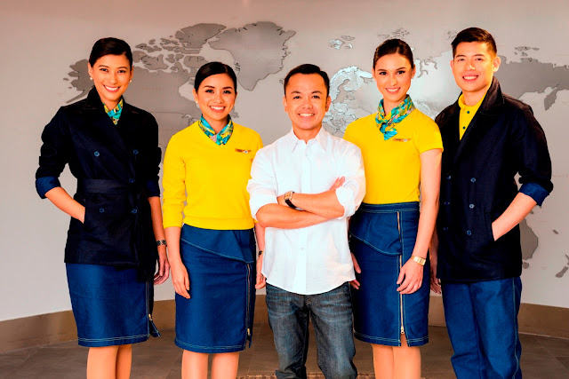 Cebu Pacific launches new cabin crew uniforms designed by Jun Escario