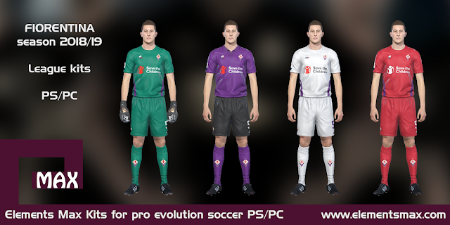 Fiorentina PES Kits 2018/19
