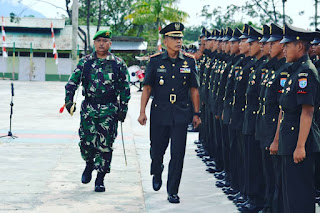 Wadanrindam XII/Tpr Tutup Secara Resmi Dikjur Taif TNI AD Gel. I Tahun 2018
