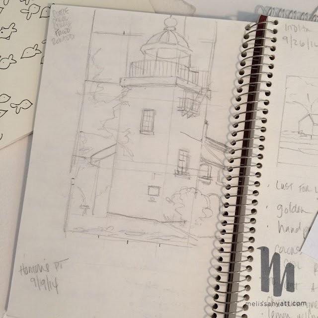 Melissa Hyatt, sketchbooks, Sketchbook Conversations