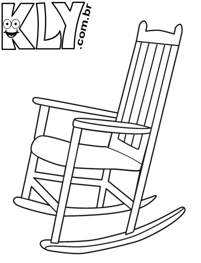 Vida Colorida Desenhos De Cadeiras Para Colorir
