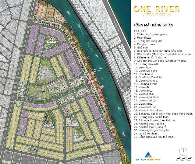 ban do tong the cua one river villas